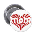 Vintage Mom Button