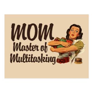 Vintage Mom Postcard
