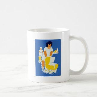 Vintage Moms With Strollers Coffee Mug