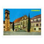 Vintage monasterio de Portugal, Coímbra Postal