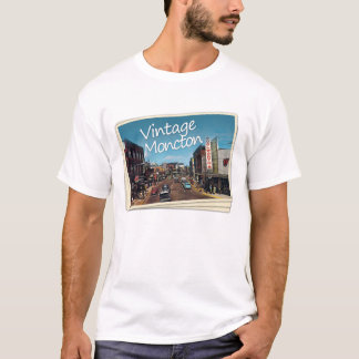 Vintage Moncton Branded T-Shirt
