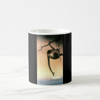 Vintage Monkey Print on a Coffee Mug
