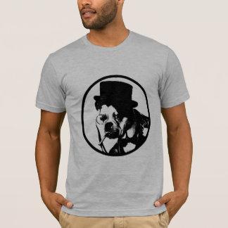 Vintage Monocle Dog T-Shirt