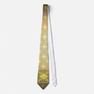 Vintage Monogram (Golden) Neck Tie