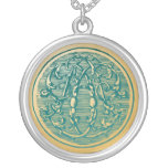 Vintage Monogram- Inital 'D' Personalized Necklace