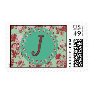 Vintage Monogram J Stamps