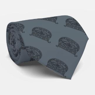 Vintage Monogram The Letter D Customizable Tie