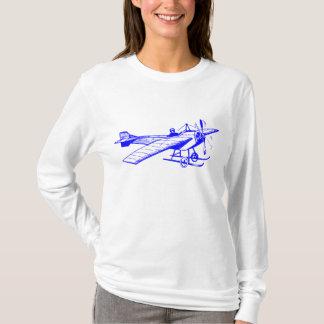Vintage Monoplane - Blue T-Shirt