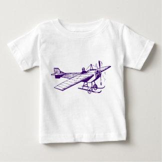 Vintage Monoplane - Deep Purple Baby T-Shirt