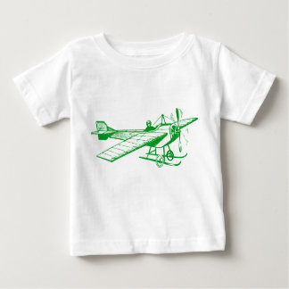 Vintage Monoplane - Grass Green Baby T-Shirt