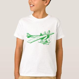 Vintage Monoplane - Grass Green T-Shirt
