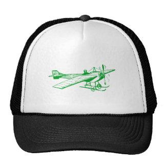 Vintage Monoplane - Grass Green Trucker Hat