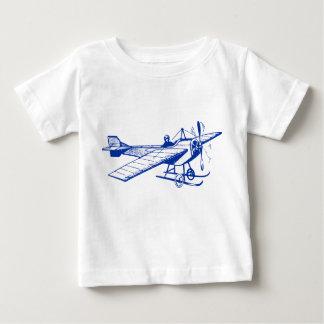 Vintage Monoplane - Navy Blue Baby T-Shirt