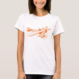 Vintage Monoplane - Orange T-Shirt