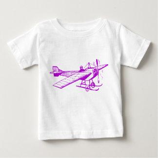 Vintage Monoplane - Purple Baby T-Shirt