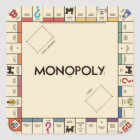 Vintage Monopoly Game Board Square Sticker