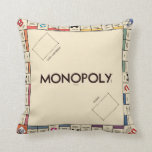 "Vintage Monopoly Game Board Throw Pillow<br><div class=""desc"">Vintage Monopoly</div>"