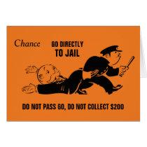 Vintage Monopoly Go To Jail