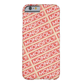 Vintage Monopoly Logo Barely There iPhone 6 Case