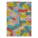 Vintage Monopoly Money Card