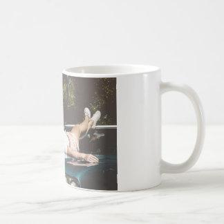 Vintage Monroe Inspired Classic White Coffee Mug