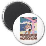 Vintage Monte Carlo Beach Magnets