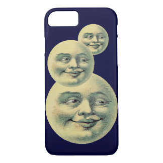 Vintage Moon iPhone 7 Case