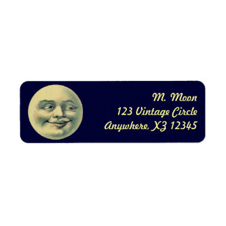 Vintage Moon Label