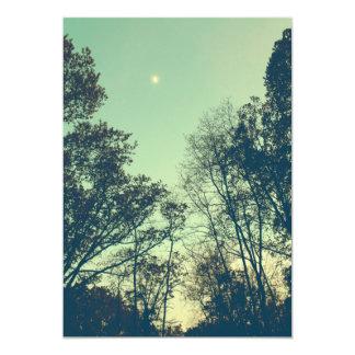 Vintage Moonlit night Card