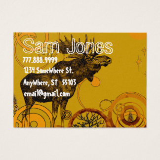 Vintage Moose Business Card