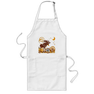 Vintage Moose Gifts - Customized Long Apron