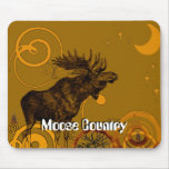 Vintage Moose Gifts Mouse Pad