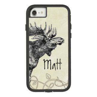 Vintage Moose Wildlife Case-Mate Tough Extreme iPhone 8/7 Case