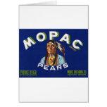Vintage Mopac Pears Fruit Crate Label