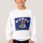 Vintage Mopac Pears Fruit Crate Label Sweatshirt