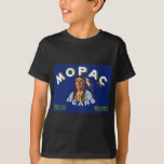 Vintage Mopac Pears Fruit Crate Label T-Shirt
