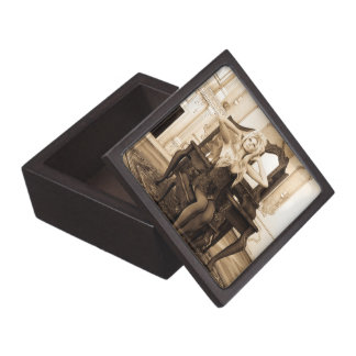 Vintage Morning Jewelry Box