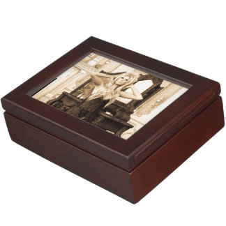 Vintage Morning Memory Box