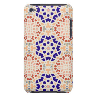 Vintage Moroccan Tile Abstract Pattern Modern Art Barely There iPod Covers
