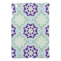 Vintage Moroccan Tile Abstract Pattern Modern Art iPad Mini Cover