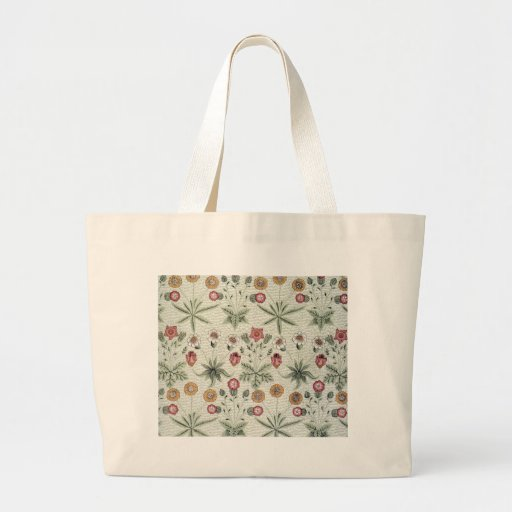 Vintage Morris Daisy Wallpaper Design Bag