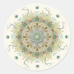 Vintage Morris Flower Mandala Sticker