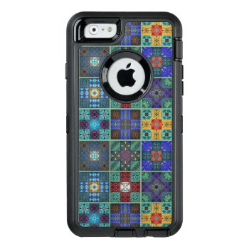 Vintage Mosaic Talavera Ornament Otterbox Defender Iphone Case by SomberlainShop at Zazzle