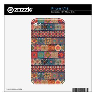Vintage mosaic talavera ornament skin for iPhone 4S