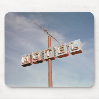 Vintage Motel Mouse Pad
