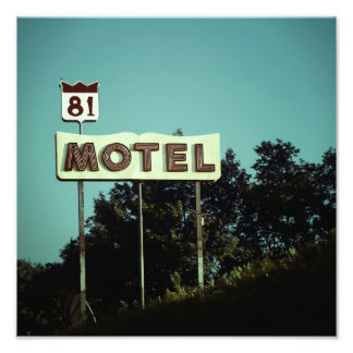 Vintage Motel Photo