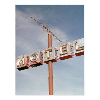 Vintage Motel Postcard