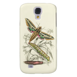 Vintage Moth Progression Galaxy S4 Cover