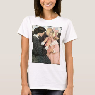 Vintage Mother and Child by Jessie Willcox Smith T-Shirt