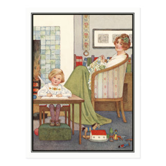 Vintage Mother and Child by Millicent Sowerby Postcard